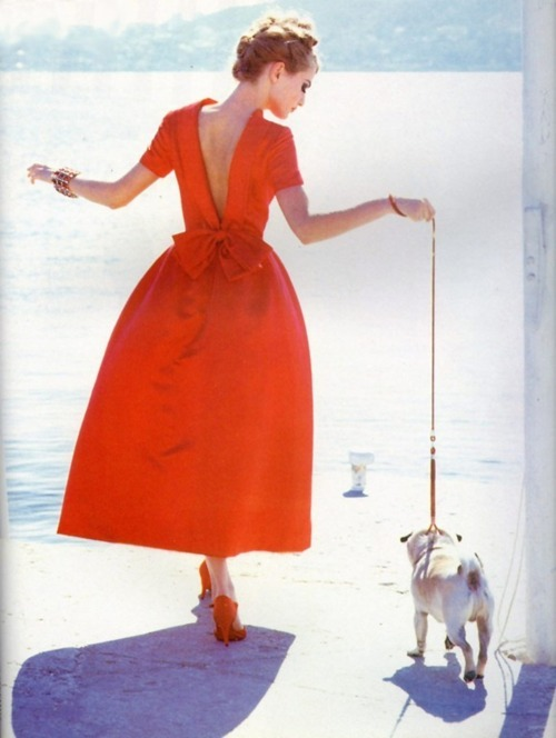 heartbeatoz:  (via style4style: This is so lovely!  Karen Mulder in Vogue Italia,… - Karen Mulder - Zimbio)