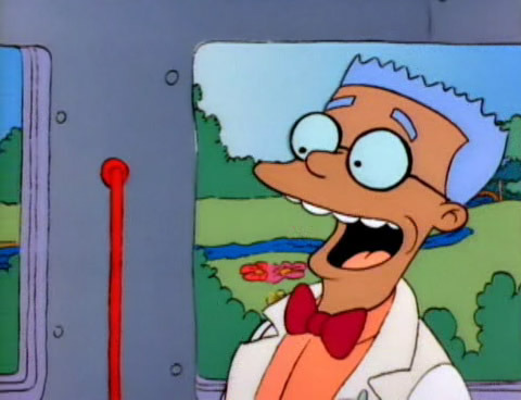 "When Waylon Smithers made his Simpsons debut, he did so as an African-American character — accidentally. Per the Simpons Wiki, ""Smithers was mistakenly animated with the wrong color and was made African American by Gyorgi Peluci, the color stylist. [Director] David Silverman has claimed that Smithers was always intended to be 'Mr. Burns' white sycophant,' and the staff thought it 'would be a bad idea to have a black sub-servient character' and so switched him to his intended color for his next episode."""