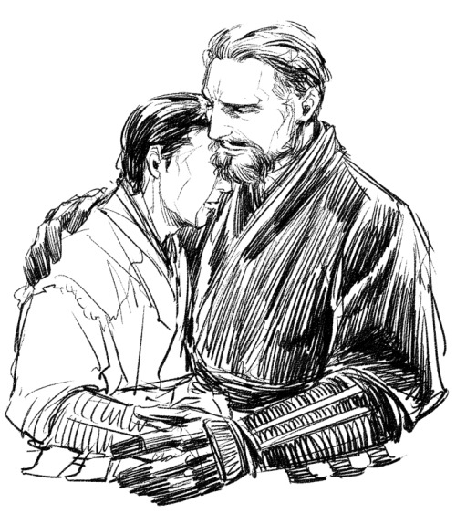 Ra's Al Ghul and Bruce Wayne