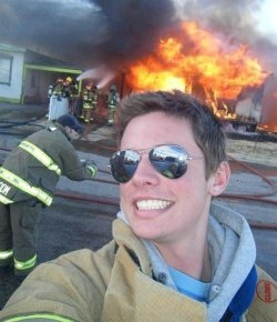 you-could-be-my-compass:  Me if my school burns down.