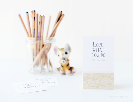 littlecraziness:  (via Poppytalk: DIY: Cute Quote Block)