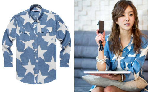 G.NA FOR LG XNOTEJOYRICH STAR BRIGADE SHIRT - ₩159,000