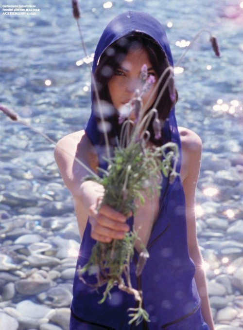 """Is nature my only way?"" Jacquelyn Jablonski by Mark Borthwick for Vogue Netherlands July/August 2012"