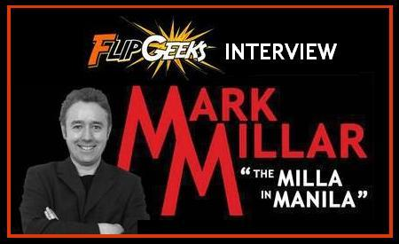 Flipgeeks exclusive interview with Mark Millar (Wanted, Kick-Ass, Civil War, The Ultimates) — http://www.flipgeeks.com/pinoy-komiks-dc-marvel-etc/flipgeeks-exclusive-interview-with-comics-superstar-mark-millar/