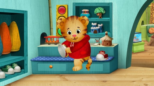 pbstv:  DANIEL TIGER'S NEIGHBORHOOD, the first TV series from the Fred Rogers Company since the iconic MISTER ROGERS' NEIGHBORHOOD, premieres this Labor Day, Monday, September 3, 2012 on PBS KIDS. The series stars 4-year-old Daniel Tiger, son of the original program's Daniel Striped Tiger, who invites young viewers into his world, giving them a kid's eye view of his life in the Neighborhood of Make-Believe.