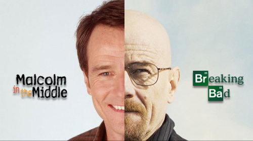 laughingsquid:  Comparing Bryan Cranston's Walter White To Malcolm's Dad Hal