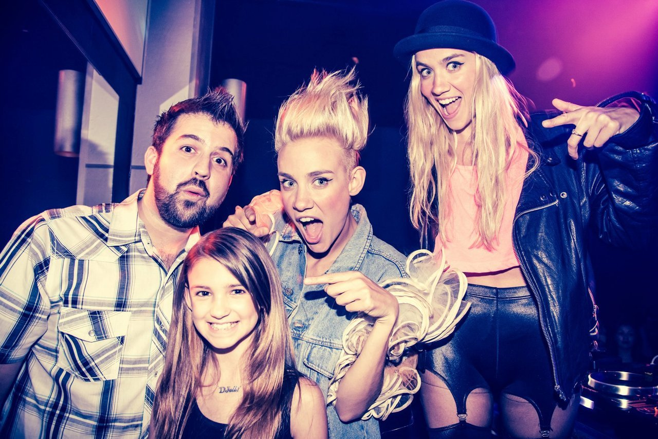 NERVO, DJ Mikey G & DJ Elle Morgan @ Lumen Lounge, Houston TX, June 2012