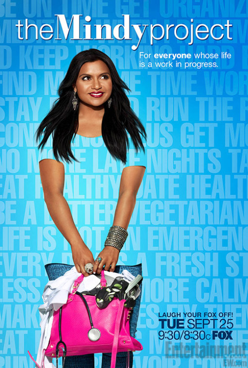 televisionwithoutpity:  From EW - promo poster for The Mindy Project. Squee.