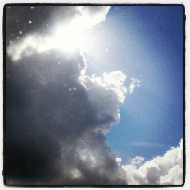 Cloud break (Taken with Instagram)