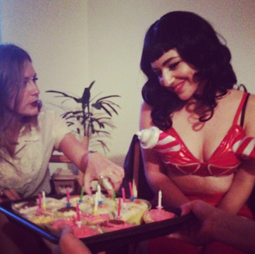 My Katy Perry birthday, via @amymichellems