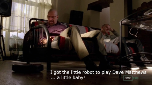 parksandmeth:  Andy Dwyer: I got the little robot to play Dave Matthews… a little baby! — Sweetums