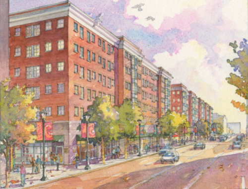 "The retail and housing space to be added to Columbus Commons now has a completion date: 2013. ""Often, in redevelopment, you create a site for a new project, and nothing happens for a long time,"" said Stephen Wittmann, chairman of the Downtown Commission. Lucky for Columbusites, that didn't happen this time."