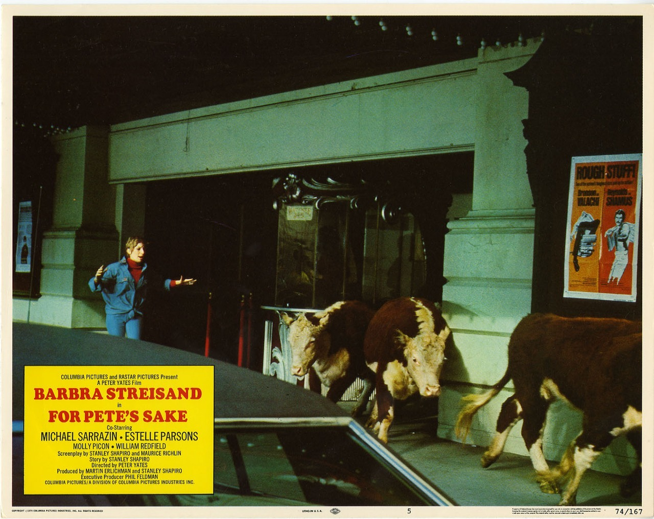 For Pete's Sake, US lobby card. 1974