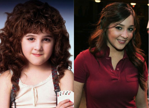 So this is what Alisan Porter, that girl from Curly Sue, looks like now She's 31 years old, curl-less and just had a baby. Damn, life moves quickly. Via