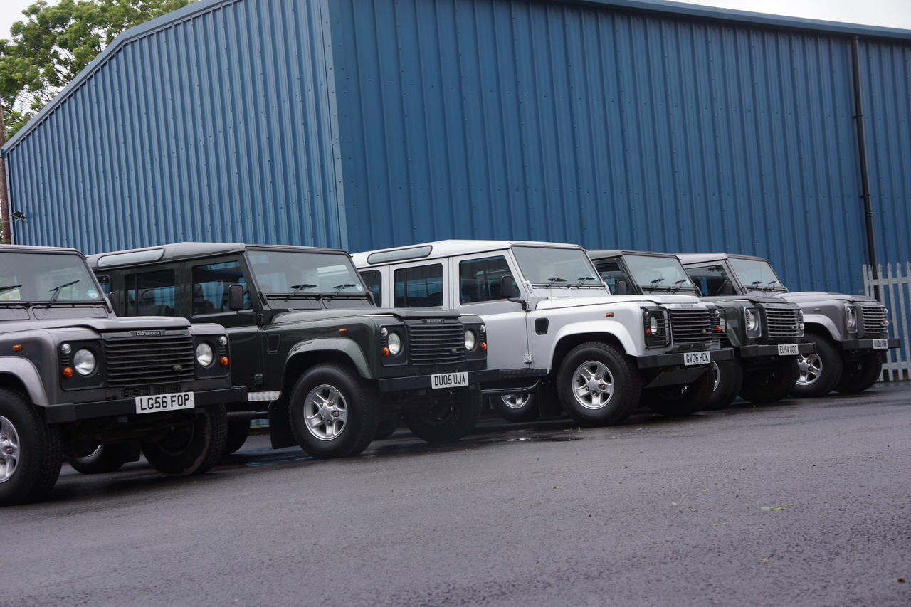 westcoastdefender:  The Fleet