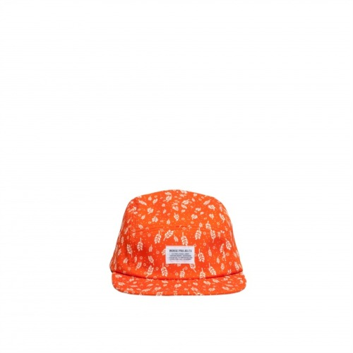 NORSE PROJECTS CORNPRINT 5 PANEL CAP grenadine - 60.00 EUR  follow http://5-panel-caps.tumblr.com/ for more 5 panels   and http://woodxlife.tumblr.com/