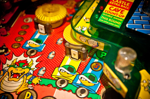 it8bit:  Super Mario Bros. Flipper (Pinball) Image by Pfer