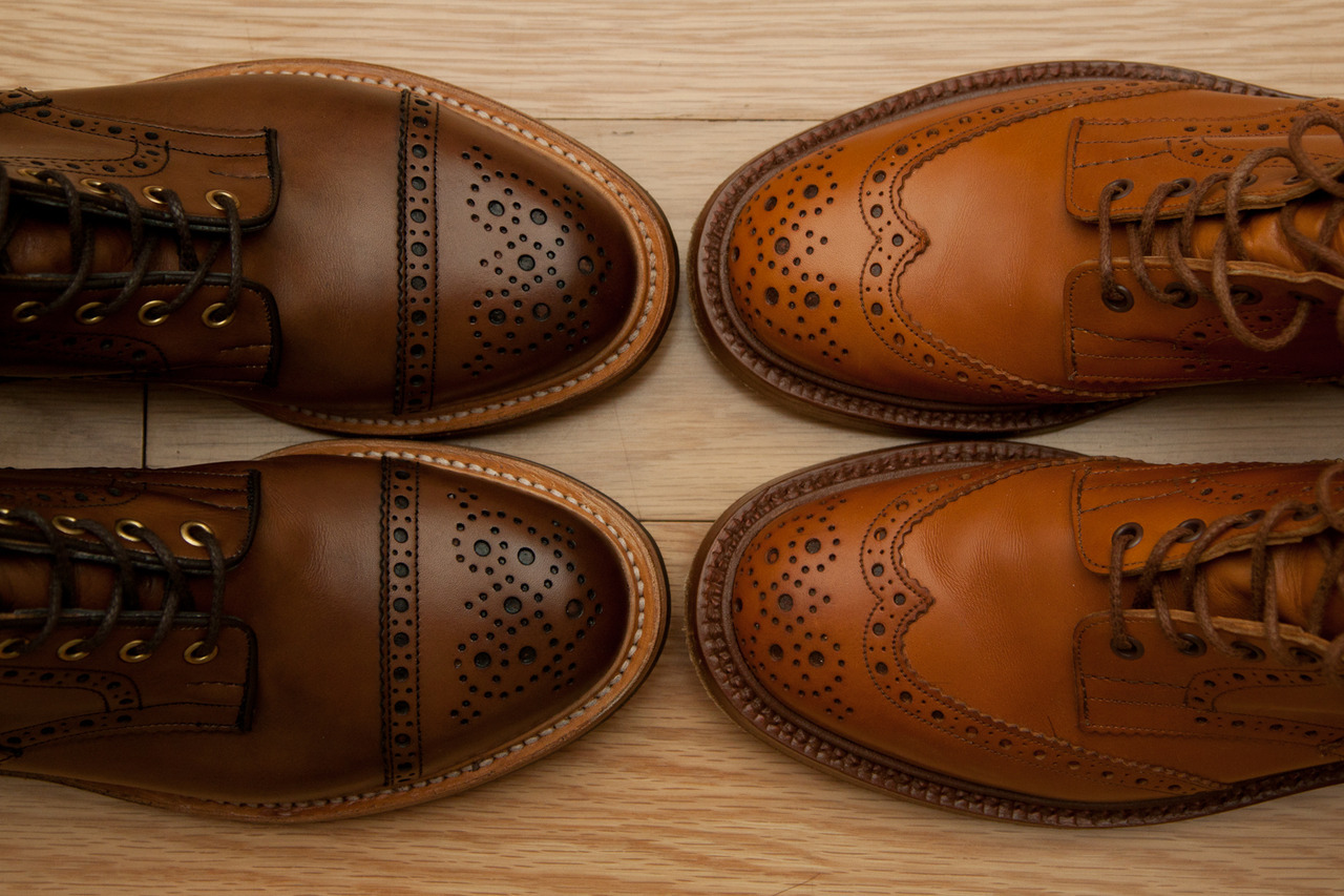 menshealthstyle:  The details on these shoes are stunning. j3:  The coffee color on the left is perfection.