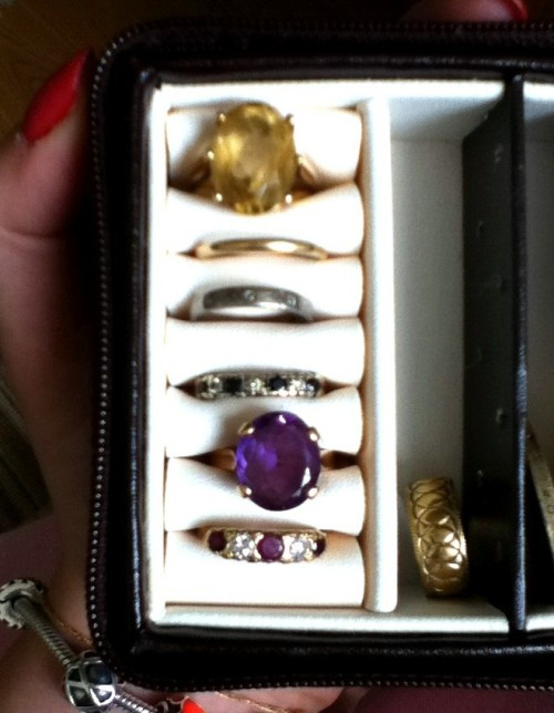 my Nana's rings