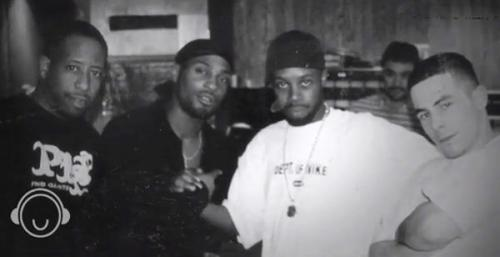How's this for a photo? DJ Premier, D'Angelo, J Dilla & Alchemist from the 'Voodoo' sessions courtesy Waajeed.More about this (& the usual essential Dilla sample flip science) in the latest 'Bling 47 Breaks' video - watch it, here: http://bit.ly/MD7zoX