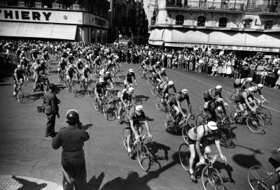 baltimorehorsescycling:  1953 Tour de France.