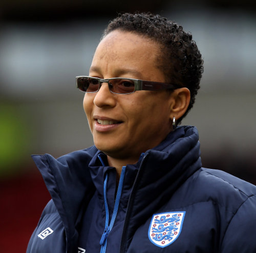 Hope Powell CBE - coach, England women's football team  A fully qualified A-licence coach, in 2003 Powell became the first woman and out lesbian to achieve the UEFA Pro Licence and was inducted into the English Football Hall of Fame. She was given an OBE in 2002 and a CBE in the 2010 birthday honours. No. 5 on the Time Out Pride Power List 2011