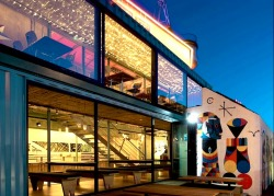 "Loving this initiative!: Wahaca Southbank Experiment ""Wahaca teamed up with art curator Tristan Manco to select a series of artists to decorate the exterior of the temporary restaurant space"""