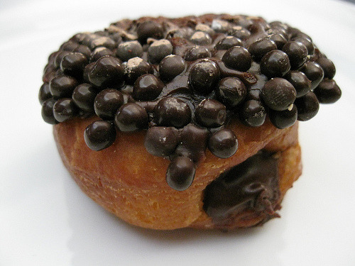 e-levated:  Chocolate Doughnut from Bouchon Bakery