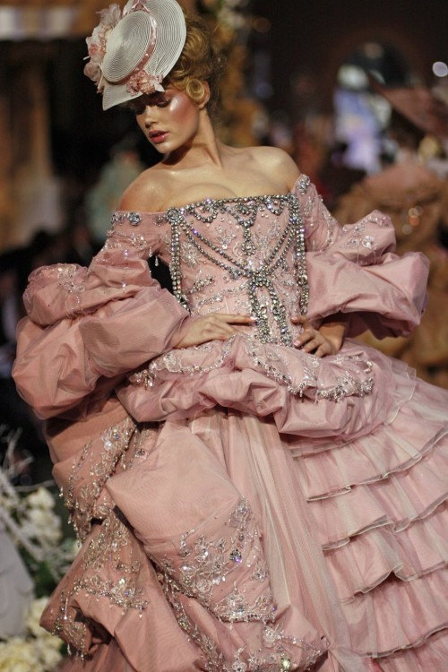 seaborder:  John Galliano for Christian Dior Fall Winter 2007 Haute Couture