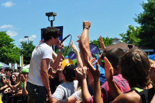 collinwaldron:  A Will Away - Warped Tour 7/22/12 Hartford, CT