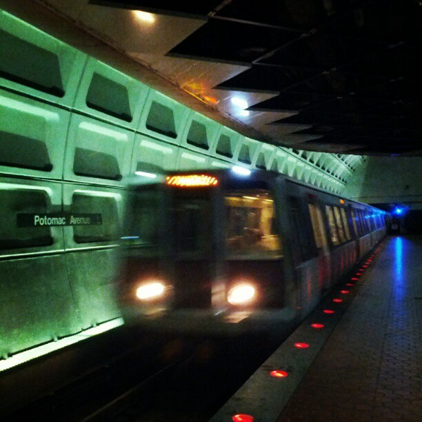 Taken with Instagram at Potomac Avenue Metro Station