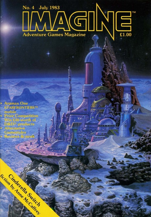 IMAGINE 4, July 1983. Angus McKie, 1983.