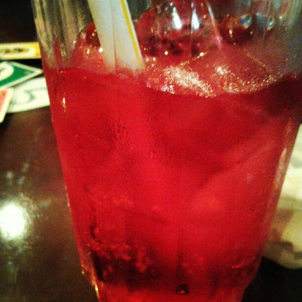 How I wish this is a shirley temple right now :\ (Taken with Instagram)