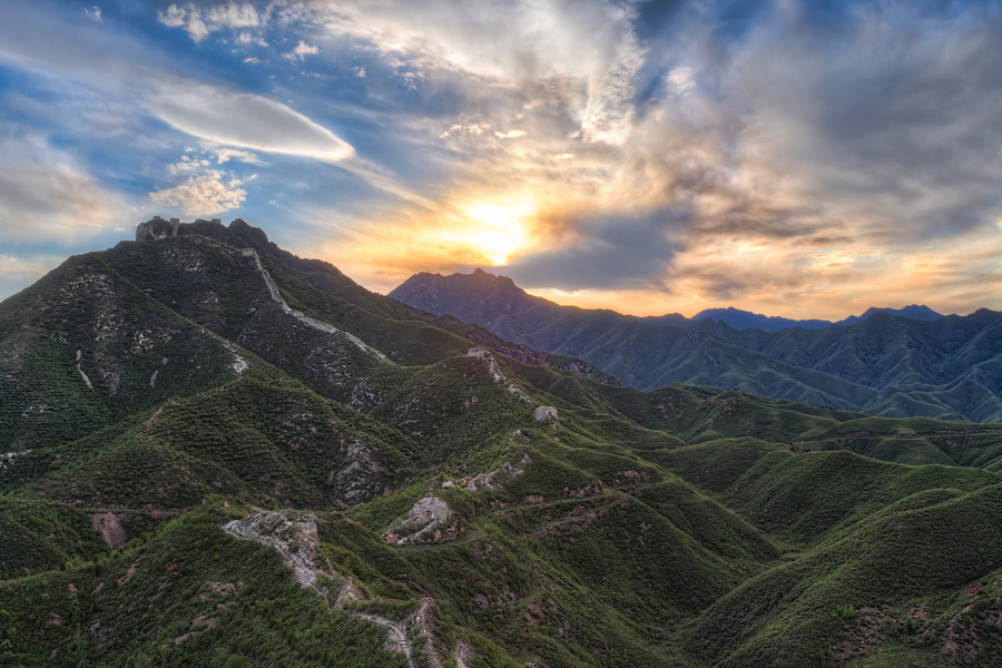 Wohushan Great Wall by Greg Annandale