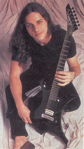 espsteven94:  Chuck with BC Rich