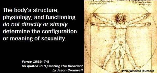 LGBTQ* Gender Theory and Sexuality Theory We are not easily understood, nor are we easily defined;' we are not a binary.