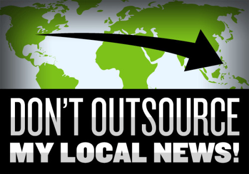 "It's not just Journatic: A breakdown of journalism and outsourcing Hey hey! Here's the latest entry in our weekly post series, ""The Pitch."" This post, written by SFB editor Ernie Smith, analyzes the larger implications around the Journatic journalism scandal in wider context. Find him on Twitter over here. Journatic is only the tip of the iceberg. In recent weeks, the scandal with Journatic, a company that outsources the work of individual stories to people outside of a given community, has drawn scorn and shocked reaction from media pundits and readers alike. But let's think about this a little more. There's a root issue here that often gets ignored by outsiders — newspapers have slowly been trimming the edges in every way possible. What does that mean? Let's analyze after the jump. (image by Free Press, a group running a campaign against Journatic) [[MORE]] Preface: How Journatic surfaced My stomach turned and my guilt grew. The company I was working for was harming journalism: Real reporters were getting laid off and were being replaced by overseas writer-bots. Journatic employee Ryan Smith • Discussing why he went public with his story about the company, first to the Chicago Reader, then to This American Life, then to Poynter, and then in this first-person piece from The Guardian, which is where we pulled the quote. Smith's work on the front lines of both Journatic and sister company BlockShopper revealed a level of outsourcing that newspapers had never tried before — to the point where a single company was trying to create hyperlocal content for local communities across the country, at prices journalists might never agree to otherwise, and in ways which would have never been possible ever a couple of decades ago — in some cases, outsourced literally halfway around the world. So why this race to the bottom? Let's analyze. The top layer: Economic realities 49% drop in ad revenue between 2003 and 2011 alone source 41,344+ job cuts recorded by media site Paper Cuts since 2007 alone — the darkest years were 2008 and 2009 26% the decline in overall full-time newspaper employment between 2000 and 2009 alone $46B the size of the newspaper industry's total ad revenue in 2003 $24B the size of the newspaper industry's total ad revenue in 2011 13% the share of total ad revenue that newspapers made online in 2011 » Trimming at every corner: With newspaper journalism facing a crisis of declining fortunes (brought about in part by the gradual decimation of their target ad market), it's becoming all the more clear that current methods simply aren't working. Resources are shrinking — and as a result, layoffs have become more and more common in the U.S. newspaper industry in recent years. (Want to depress yourself? Look at the maps Paper Cuts has put together showing these layoffs.) Newspapers, to put it simply, are in need of a re-invention — or at least a re-distribution of resources. Which is where outsourcing comes in. Below the surface: ""Good"" outsourcing It's worth keeping in mind that newspapers in fact have for decades ""outsourced"" much of their content. The thing is, it's not called ""outsourcing"" generally. They've pooled their resources together to create these things called wire services and content syndicates to expand the reach of newspapers around the world. Together, all this stuff helps make a newspaper feel more like, well, a newspaper. Here's what this means: benefits The fact is, not everything needs to be produced in-house, and sometimes it helps to take off the load. As many papers use similar tropes — many have editorial pages and national news, for example — this helps keep costs down while giving readers access to a wider variety of content. downsides Simply put, this content isn't as necessary for general readers in the age of the internet, when national or international news is much easier to find online. This is a prime spot for newspapers to trim back, and in recent years, some papers have considered dropping the Associated Press altogether. Wire copy For most newspapers, the goal is to run as much original copy as possible, but the world is big, and unless you're the New York Times, you probably can't cover everything in-house. That's where Reuters, AP and Getty Images come in. Wire copy is outsourced work, but it's also something you'd never think of as ""outsourced."" Freelancers Sometimes, someone owns a voice so unique and worthy of your publication that you'll ask them to help. Or you have a project that needs doing, and even if you can't handle the work on your end, an outside person can. That's where a freelancer comes in. Plus, they generally aren't paid benefits — a way to cut costs. Syndication This is the columnist's dream gig — if they're clever enough, they might be able to take their soapbox and run it in papers across the country — and a few have. Know Dave Barry? There's a guy who's benefited from mass syndication. And all those comics you love? Also syndicated. That is technically outsourced work, friends. » What the difference is: Dignity. This is quality content, and it's paid for at quality prices and given play similar to if you were paying these journalists top-dollar. Wire copy was never intended to replace content — but to expand reach. This is not the same as local content by any stretch, and shouldn't be treated as such. Digging deeper: Outsourcing basic functions In recent years, though, the outsourcing has become more pronounced. Now, essential functions of journalism which often require a deft, direct touch are becoming the targets of newspapers' continued consolidation efforts. Admittedly, they're struggling — major companies like Tribune Corp. have had to declare bankruptcy in recent years, and even well-regarded newspapers like the New York Times have held on mainly thanks to help from major outside investors and by selling off some of their smaller products. Here are just a few examples of newspapers taking functions traditionally handled locally and doing them remotely: Layout & page Design With the rise of desktop publishing programs, one of the most intensive processes in newspaper publishing — the layout — has become more of a commodity, with many major newspaper chains, including Gannett and Tribune Corp. designing large swaths of their newspapers hundreds or thousands of miles away — and cutting back on overall staff in the process. Copy-editing Hate errors? If so, copy editors are your final line of defense. They cross the t's and dot the i's, but they also edit reports and check for errors. The job often requires extensive knowledge of a community, so publishers have been loath to outsource this function, though it has happened — and some publications have also passed on using copy editors altogether. Web design One approach which has become common for major newspaper chains is to standardize the look of the various newspaper sites in the chain, to emphasize consistency across the board. Newhouse, for example, uses this process extensively, hiring an outside company to work on its sites and making them look essentially the same in multiple markets. » The pitfalls: Let's say you're editing a story from afar, and the story takes place near a certain river. If you don't live in a town, you may be unfamiliar with this river, and may even subconsciously think that it's a river in the town in which you're currently living. So readers get the wrong river, and may get upset. This actually happened in 2010, when a copy editor working remotely on a Media General paper accidentally did this in a story about a drowning. That, of course, is very bad. Reaching bottom: What Journatic did & why it's worse The business of outsourcing the local content itself: The reason something like Journatic exists is because so many layers of content have already been trimmed back that the next logical place to cut is the content itself. Now, granted, some of that content is not super-exciting — there are only so many ways you can cover a school lunch menu, for example, and town hall meetings are necessary to cover but often have limited reach. This is not the stuff of big-city front pages — this is stuff that gets buried in most newspapers, but makes a newspaper local. Journatic's move into newspapers reflects a certain financial reality, but in the process, they did three things which constitute major ethical violations: distance By covering local journalism from a distance and packaging it for audiences who didn't know any better, there was a basic lie being told — to the point where reporters' phone numbers were faked to have local area codes. That is not transparent. bylines There was significant evidence that the company was using fake bylines on numerous stories — including hundreds found on the Houston Chronicle site alone — in a possible effort to hide that the stories were created overseas. That is bad. secrecy Journatic had so little respect for the people it was serving — not the companies, the readers — that it went out of its way to hide its Web site from prying Google users. That's not just deception — that's complete disrespect for communities. » The fallout: Tribune Company, one of the major backers of Journatic which made a major strategic investment in the firm back in April, briefly suspended its use of the content, though it said recently that it would not stop, and instead plans to work with the firm on a reinvention of the model. Other major news companies, meanwhile, have stopped using Journatic, and reports have surfaced about ethical scandals Brian Timpone, the company's CEO, had previously been involved in. The bottom line Is faking hyper-local content the answer? Probably not. But it's also true that most newspapers can't afford to continue producing a lot of the kind of content that Journatic generated. GigaOm writer Matthew Ingram • Arguing a key point that people might be missing in the wake of the Journatic mess — the company is a symptom of a larger newspaper-industry decline, but not the cause of it. There are serious questions to be raised by the existence of Journatic, but most of the answers exist outside of that company's confines. We scold companies like Newhouse for cutting away at the New Orleans Times-Picayune, but offer no answers as to how they can recoup the declining ad revenues that paid for all those jobs. There are tough issues that need to be answered for, but here's a good one: How are we going to prevent our newspapers from becoming miniature Demand Media-style content farms? Print revenue has slowly disappeared, and with Journatic, we've found how far newspapers are willing to go to save money. How do we prevent a further sliding scale? Good local journalism is still needed, but what will keep it safe? Ernie Smith the editor of ShortFormBlog, who until recently worked at the Washington Post Express. He starts a new job tomorrow at TMG Custom Media. (Hooray!) Reach him at @ShortFormErnie."
