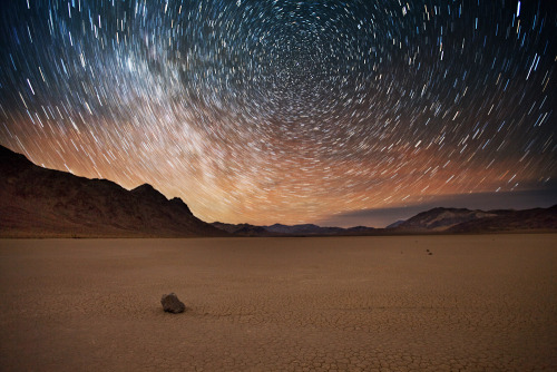 theworldwelivein:  Racing the Stars, But not Forgotten | Racetrack Playa, Death Valley, California© Grant Kaye Photography