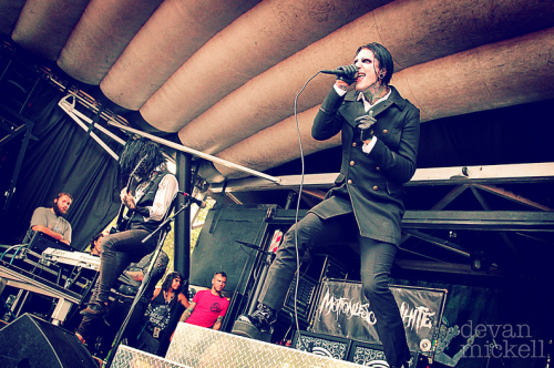 deraileddreams:  Motionless In WhiteWarped Tour 2012 by Devan Mickell