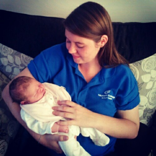 Me and my Niece, Freya. So proud and so much love :') <3 (Taken with Instagram)