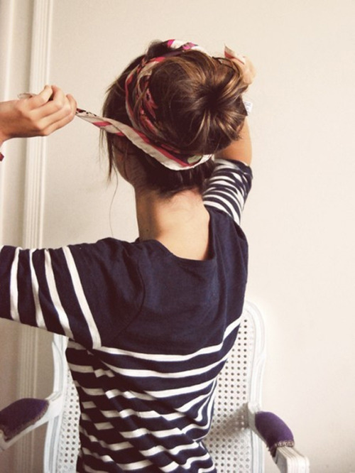 dolled up sock bun