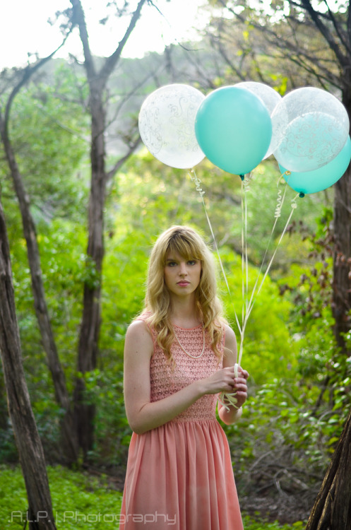 Annie and The Balloons 1 by *ALP-Photography © .A.L.P. Photography. All Rights Reserved. Model: Anna Schmid. The entire set can be found at: http://www.flickr.com/photos/alp_photography/sets/72157630707560190/