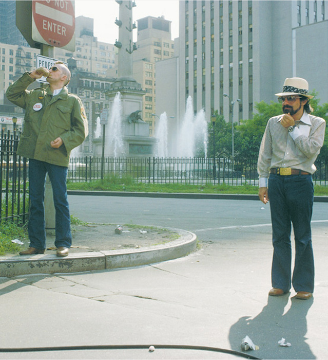 annyskod:  On the set of Taxi Driver - Martin Scorsese and Robert de Niro