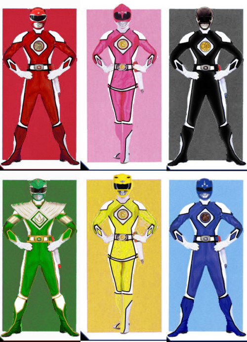 heckyeahmmpr:  Power Rangers Redesigns by ~thedreaded1