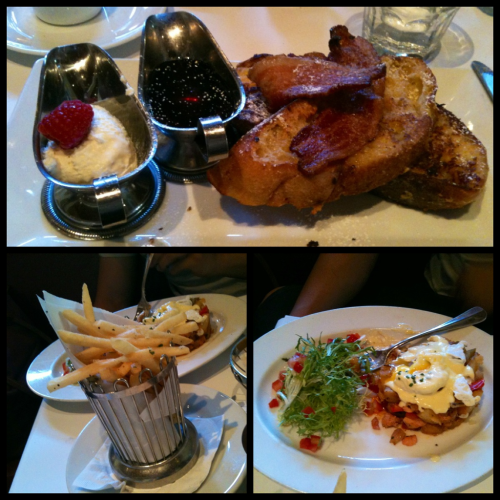 Amazing French brunch at Left Bank, Santana Row