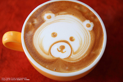 yummaystuff coffee cream art.