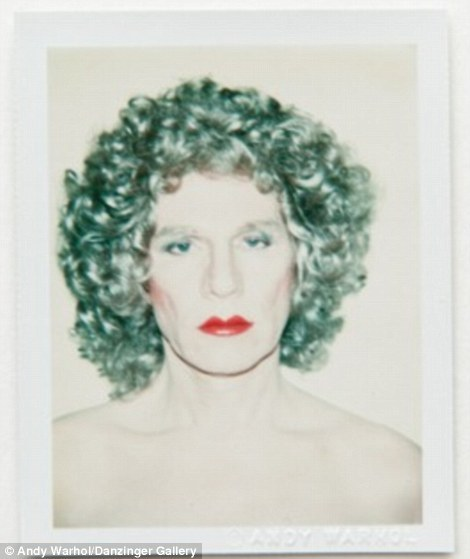venusofrags:  andy warhol  polaroid self portrait