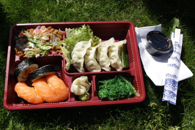 jellytubbie:  Bento lunch!
