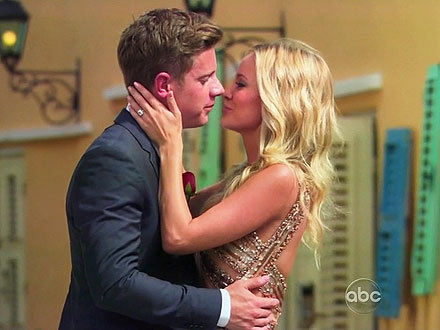 """I found the perfect man.""  - Bachelorette star Emily Maynard, who became engaged to Utah entrepreneur Jef Holm during the show's season 8 finale, on the After the Final Rose special"