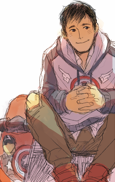 justicemuffins:  orb01:  idk? young phil? i wanna draw sth like young Clark Gregg from this pic (x) but it so hard o<—<  fucking dead okay I'M DEAD GONE